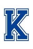 Varsity Letter K Make Your Own Banner