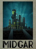 Midgar Retro Travel