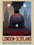 London- Scotland Hogwarts Express Retro Travel