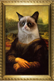 Grumpy Cat Mona Lisa