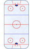 Hockey Rink Layout Sports