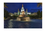 Morman Temple  Oakland  CA 5 (Iconic Buildings Christman Season)