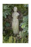Garden Statue Female (English Garden Scene with Fig Leaves)