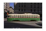 Streetcar on Market Stree  San Francisco  CA (F Line)