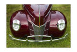Vintage Car  Close-Up (Front Grille)