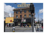 The Mission  San Francisco  CA Street Scene (Storefronts  Street Signs)