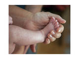 Hand with Baby's Foot (Father and Son)