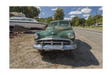 Vintage Car  Green (Pittsboro  NC)