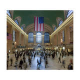 Grand Central Station Interior 3 (Public Spaces  New York City)