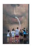 Children at Millenium Park Fountain (Chicago Summer)