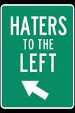 Haters to the Left