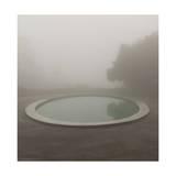 Circular Pond  Joaquin Miller Park  Oakland  CA (Urban Park  Fog)