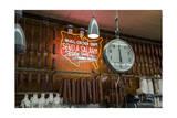 Katz's Deli Salamis with Scale (New York Landmark Eatery)