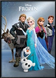 Frozen - Group Foil Poster