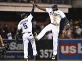 Sep 24  2014  Colorado Rockies vs San Diego Padres - Cameron Maybin