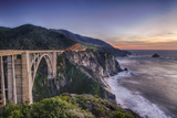 A Bixby Bridge Sunset