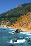 Land Meets the Sea at Big Sur
