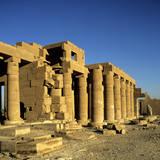 Ramesseum Temple  Luxor  Egypt