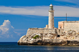The Famous Fortress and Lighthouse of El Morro in the Entrance of Havana Bay  Cuba