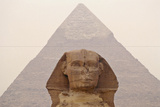 Pyramid of Khafre and Sphinx  Egypt