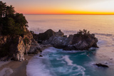 Sunset at Mcway Falls