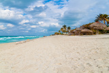 The Cuban Beach of Varadero on a Beautiful Day