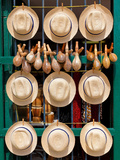 Hats  Musical Instruments Religious Necklaces and Other Traditional Craft for Sale in Havana