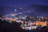 Gatlinburg  Tennessee in the Smoky Mountains