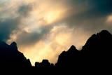 Dolomites Silhouette