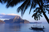Cadlao Island from El Nido  Sunrise