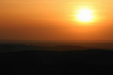 Sunset over Rural Landscape Papier Photo par Cultura Science/Jason Persoff Stormdoctor