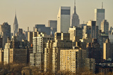Usa  New York  New York City  Manhattan  Skyline at Dawn