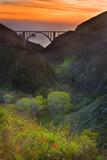 Usa  California  Big Sur  Bixby Bridge