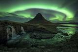 Aurora over Kirkjufell  Iceland