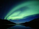 NORTHERN Lights  DENALI NATIONAL Park  ALASKA