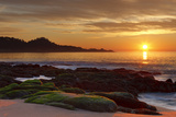 Sunset  Carmel River Beach