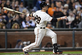 Sep 25  2014: San Francisco  CA - San Diego Padres v San Francisco Giants - Buster Posey