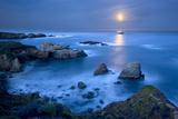 Dawn Moonset at Garrpata State Park Papier Photo par Don Smith