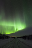 Northern Light in the Sky  Finland  Scandinavia