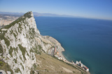 View from Top of the Rock  Gibraltar  UK