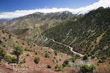 Mountain View from Tizi-N-Test Pass (E 2092 Meters)  Tizi-N-Test Pass Road  Morocco