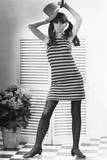 Woman Modeling Fashion