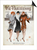 La Vie Parisienne  Magazine Cover  France  1928