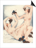 Le Sourire  Erotica Wine Grapes Sex Magazine  France  1930