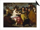 The Drinker (The Triumph of Bacchus/ Los Borrachos)  1628