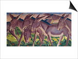 Frieze of Donkeys  1911