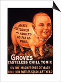 Grove's  Humour Groves Tonic  USA  1890