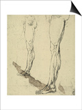 Study of Legs  Drawing  Royal Library  Windsor