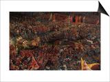 Die Schlacht Bei Issus 333 VChr (Alexanderschlacht)  1529 Detail