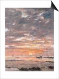 Maree Basse  Soleil Couchant  1883